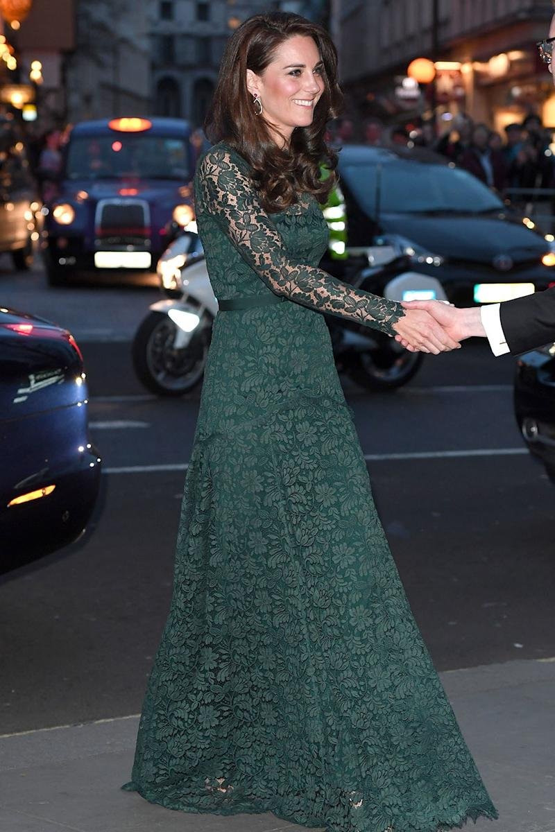 The Subtle Meaning Behind Kate Middleton's Lace Dress