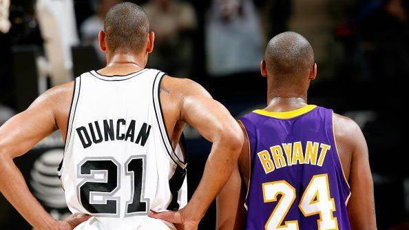 Report: Kobe Bryant, Tim Duncan and Kevin Garnett to be inducted into Basketball Hall of Fame