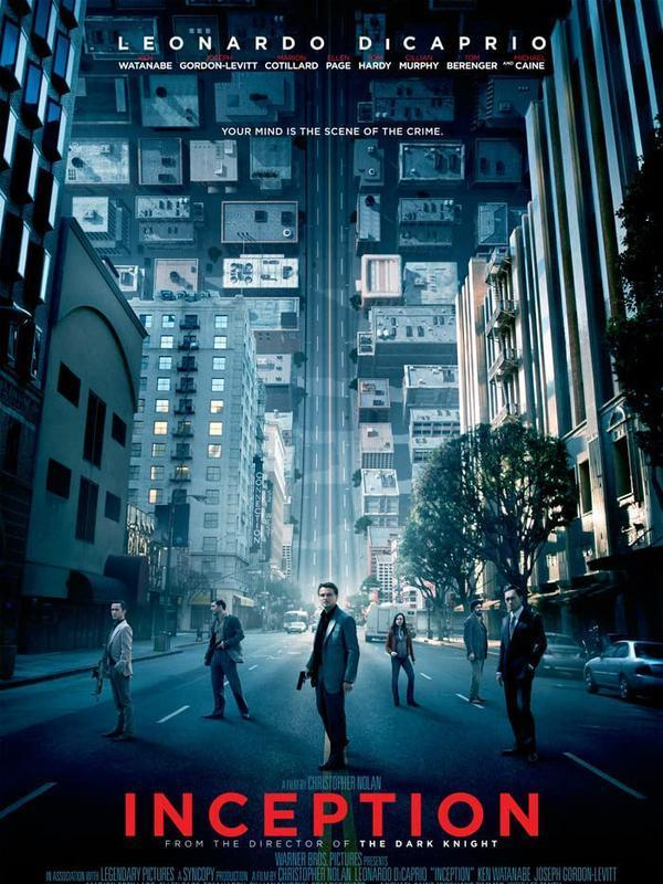 Poster film Inception. (Foto: Legendary Pictures/ Syncopy/ IMDb)