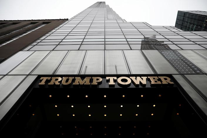 Trump Tower in New York City. (Photo: Mike Segar/Reuters)