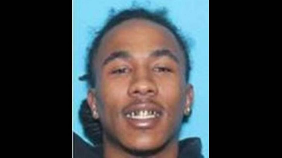 Kaleb Lawrence, 21, is wanted in connection with the shooting death of 3-year-old Asiah Figueroa, Charlotte-Mecklenburg police said on Friday, September 17, 2021.