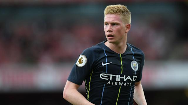 Pep Guardiola confirmed midfielder Kevin De Bruyne is ready to feature for Manchester City in the Premier League on Saturday.