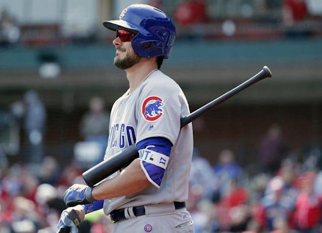 Cubs slugger Kris Bryant doesn't believe in adding insult to the injury created by his home runs. (AP)