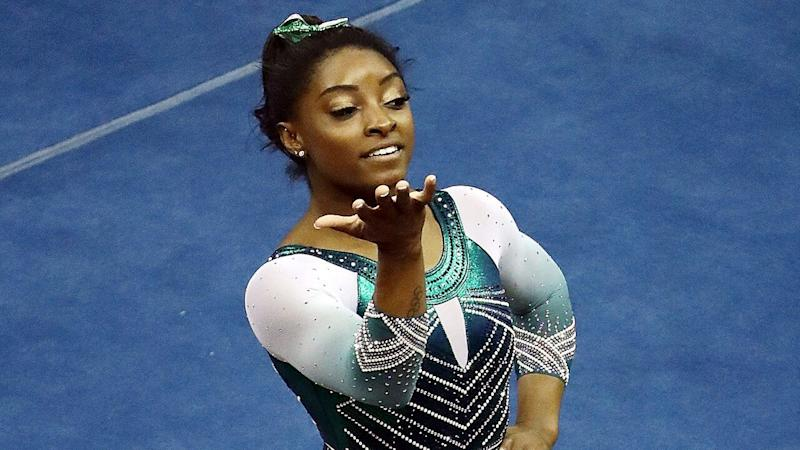 Simone Biles Performs Incredible History-Making Dismount -- Watch!