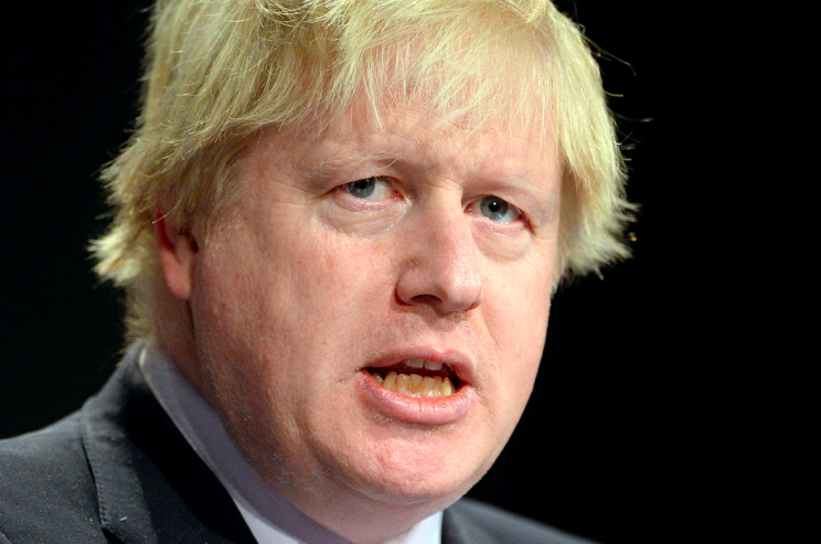 Boris Johnson has suggested the UK could take military action against the Assad regime without MP approval (PA)