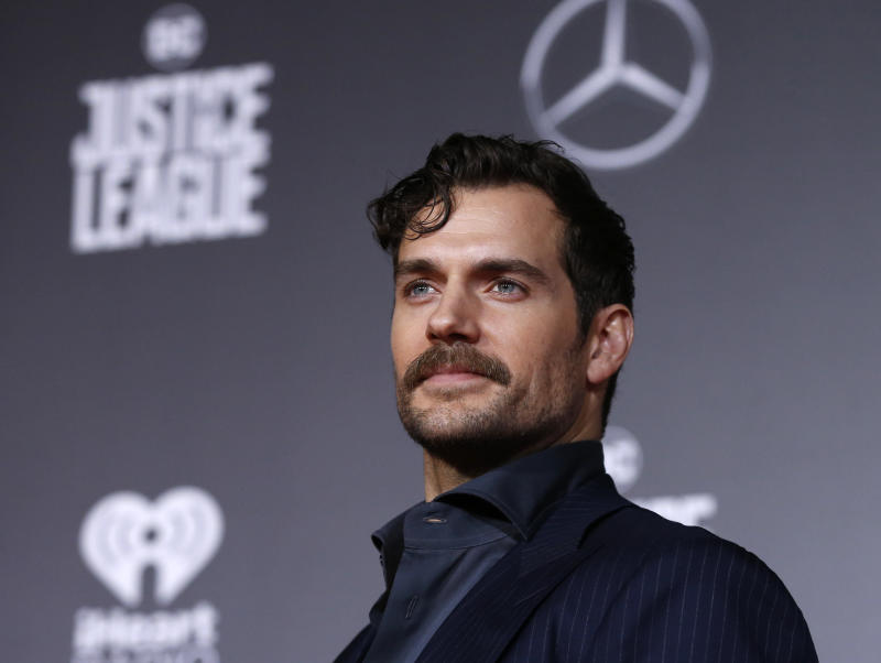 Henry Cavill spoke to GQ Australia aboutthe Me Too movement. (Mario Anzuoni/Reuters)