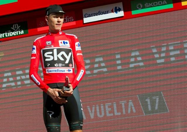 Sky's British cyclist Froome, four-time winner of the Tour de France, has been tested positive for the bronchodilator 'Salbutamol' during the 2017 Tour of Spain that he won, the International Cycling Union (UCI) said in a statement on December 13, 2017
