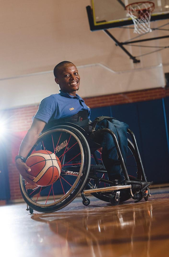"<span class=""caption"">Qaphela Dlamini, educator, wheelchair basketball player and disability rights advocate from South Africa.</span> <span class=""attribution""><a class=""link rapid-noclick-resp"" href=""https://www.flickr.com/photos/globalsportsmentoringprogram/33804484938/in/album-72157691075158333/"" rel=""nofollow noopener"" target=""_blank"" data-ylk=""slk:globalsportsmentingprogram/flickr"">globalsportsmentingprogram/flickr</a>, <a class=""link rapid-noclick-resp"" href=""http://creativecommons.org/licenses/by-nd/4.0/"" rel=""nofollow noopener"" target=""_blank"" data-ylk=""slk:CC BY-ND"">CC BY-ND</a></span>"