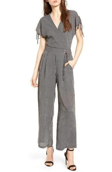 "Get it on <a href=""https://shop.nordstrom.com/s/j-o-a-stripe-jumpsuit/4840938?origin=category-personalizedsort&fashioncolor=BLACK%20STRIPE"" target=""_blank"">Nordstrom for $98</a>."