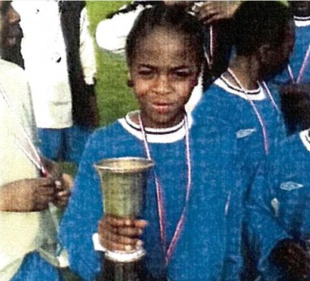 <p>This winger has gone on to big things from humble beginnings. </p>