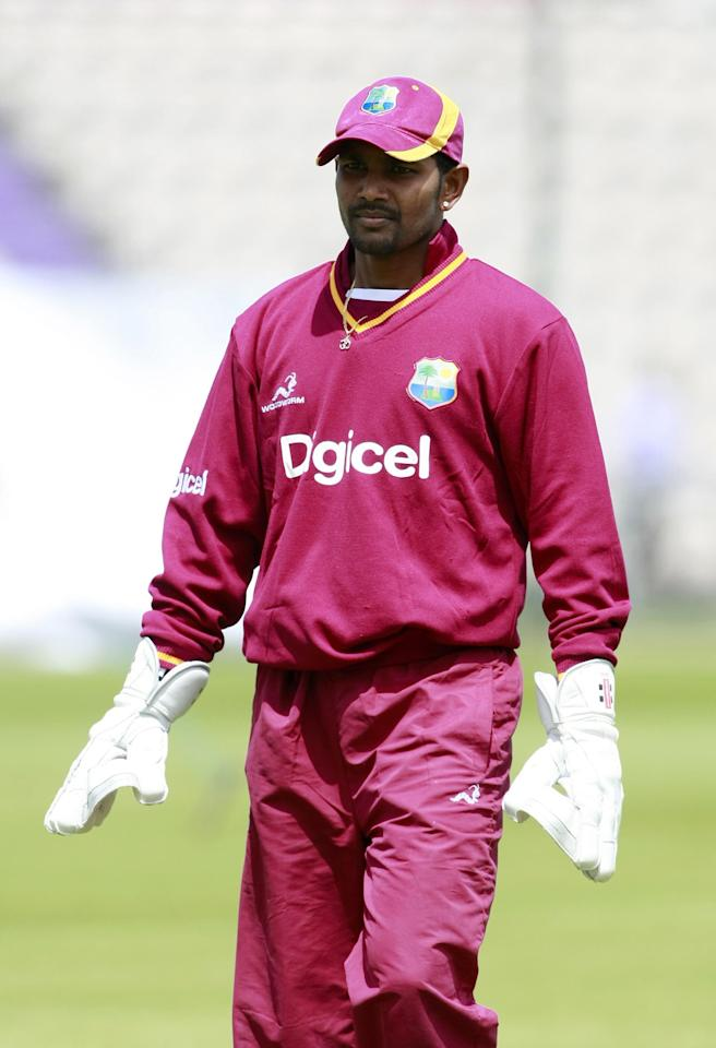 File photo dated 15/06/2012 of West Indies Denesh Ramdin.