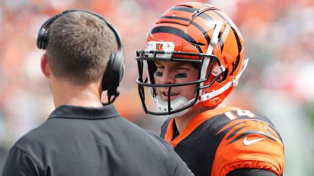 What numbers say about Andy Dalton's uneven start under Zac Taylor