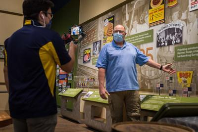 SPAMbassadors™ giving a virtual tour of the SPAM® Museum