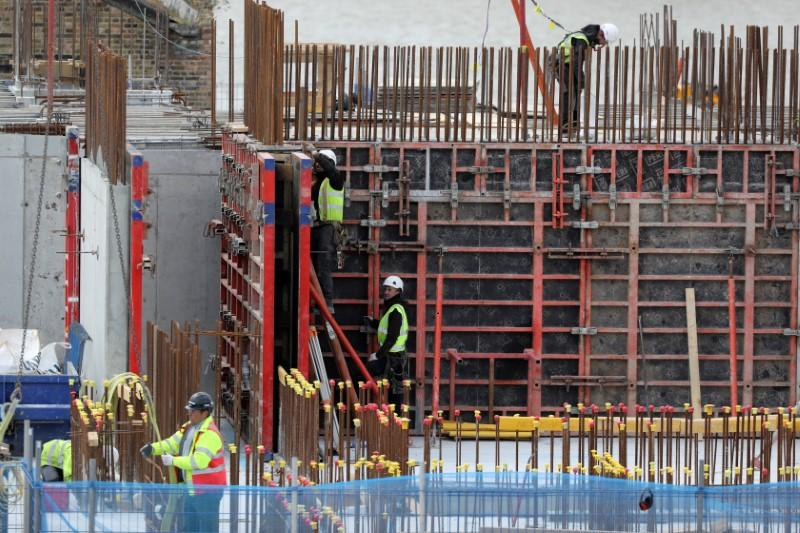 UK construction's crash eases only partially in May - PMI
