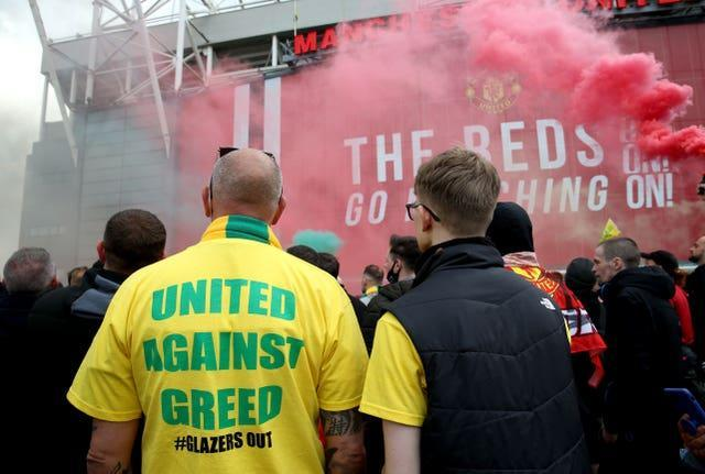 Manchester United fans have staged a series of protests against club owners, the Glazer family
