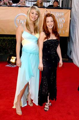 Kaley Cuoco and Amy Davidson Screen Actors Guild Awards - 2/5/2005