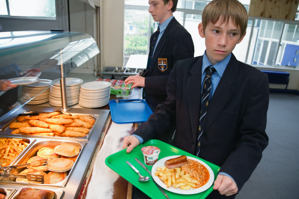 <em>Schools could be rated by Ofsted on how well they are able to help children maintain a healthy weight (Rex/posed by models)</em>