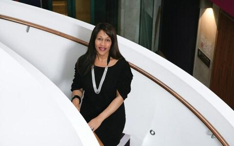 Karen Blackett, a new director of the Duke and Duchess of Sussex's Royal Foundation