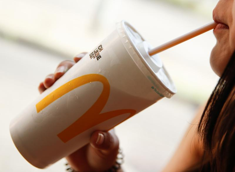 Many complained of staff handling drinking straws with bare hands. Photo: Getty Images