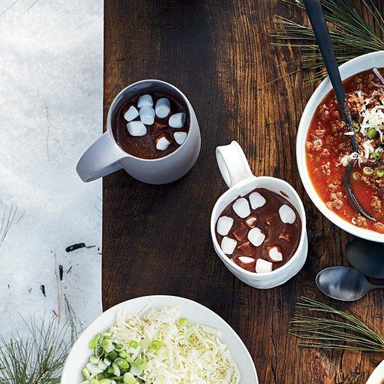 """<p>""""This melted ice cream hot chocolate is so creamy, rich and uber thick that it could be dessert,"""" says Jeni Britton Bauer. Sometimes she serves it with giant marshmallows and a knife and fork.</p> <p> <a href=""""http://www.foodandwine.com/recipes/melted-ice-cream-hot-chocolate"""">Go to Recipe</a></p>"""