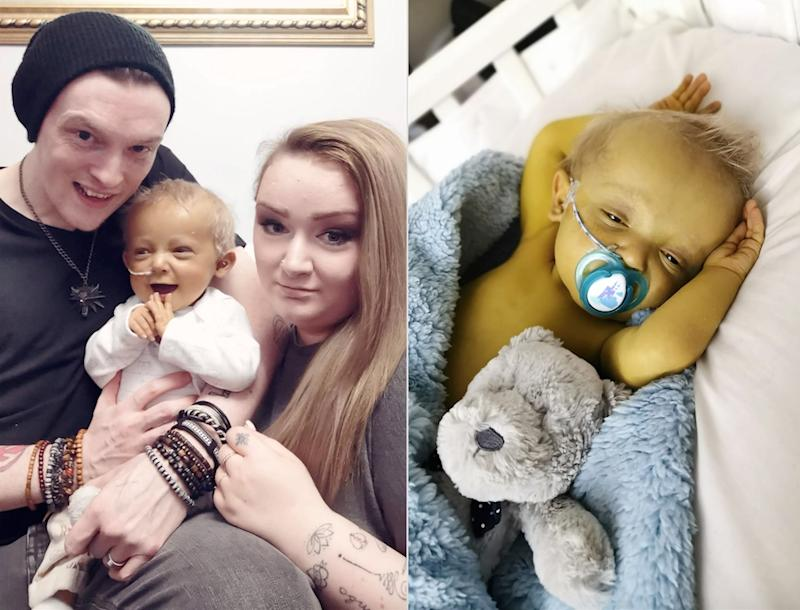 A couple have spoken at their upset of the treatment their son receives from strangers, (Caters)