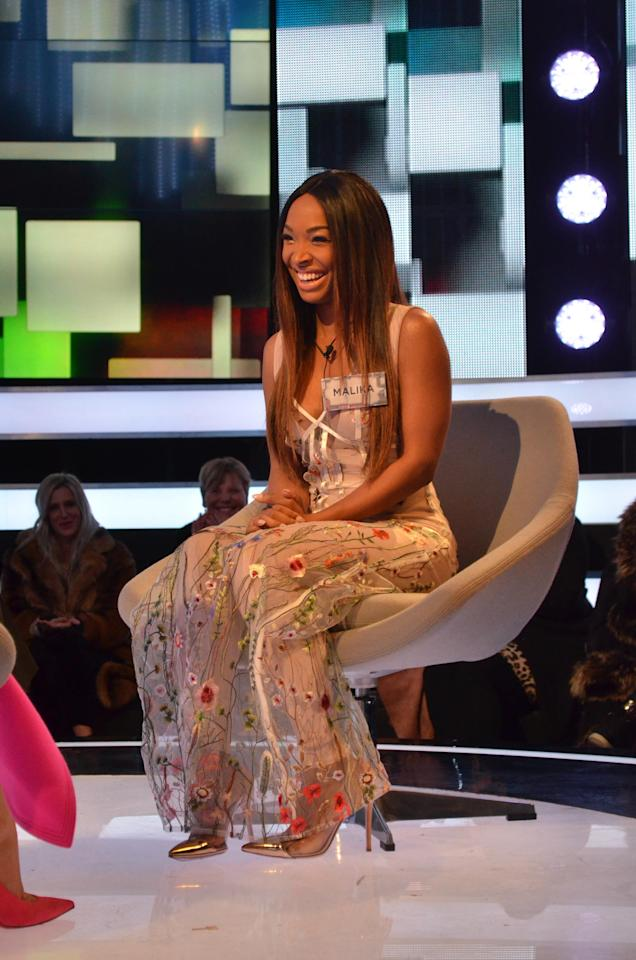 <p>Apparently Malika, 34, was paid big bucks to bring some US glam to the show. She's known as being Khloe Kardashian's 'professonal best friend' and is also a model and actress. </p>
