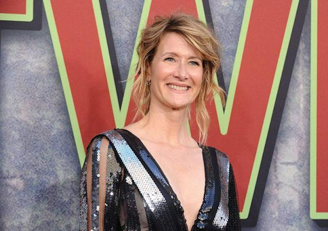 "Laura Dern has a totally different look for her role in ""Star Wars: The Last Jedi."" (Photo: Getty Images)"