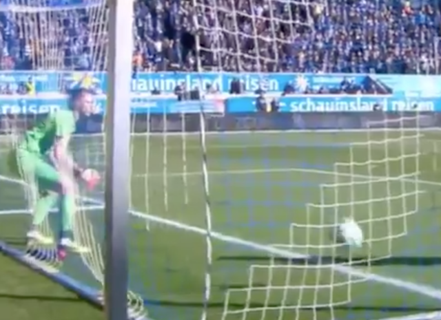 Watch soccer goalie literally stop being a soccer goalie, leading to cupcake goal
