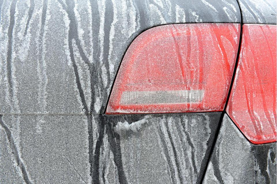"<p>Road salt can ruin your car, so be sure to wash and wax your car. But car care doesn't stop there. ""Car owners often forget two key areas when they winterize their vehicles: the rocker panels and door jambs,"" says Jeff Brown, product and sales manager at <a href=""http://www.griotsgarage.com/"" rel=""nofollow noopener"" target=""_blank"" data-ylk=""slk:Griot's Garage"" class=""link rapid-noclick-resp"">Griot's Garage</a>. ""Quick and easy wax jobs at car washes usually don't thoroughly address these sensitive areas, especially when it comes to waxing. Putting in some elbow grease to wax vulnerable rocker panels and door jambs will protect your car investment for the long term.""<br></p>"