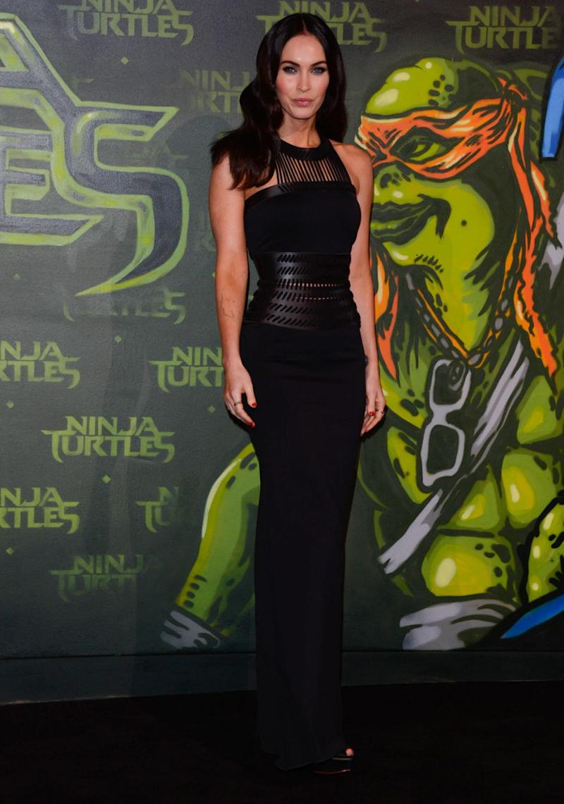 Teenage Mutant Ninja Turtles: Out of the Shadows star Megan Fox is nominated for Worst Actress. Source: Getty