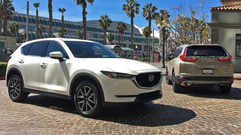 Mazda CX-5 vs Honda CR-V