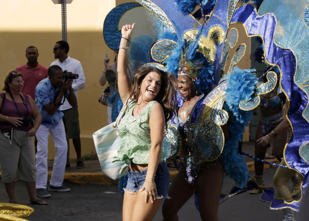"""""""Episode 1707"""" - Tierra and Sean meet on the streets of St. Croix and explore the town. Sean takes this opportunity to ask his date about the rumors he has heard about her behavior, but she is quite unapologetic. But now Tierra is apprehensive about her chances of getting a hometown date, and takes a calculated risk divulging a stunning bit of information, on """"The Bachelor."""""""