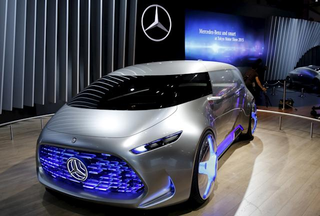 Mercedes driverless concept car