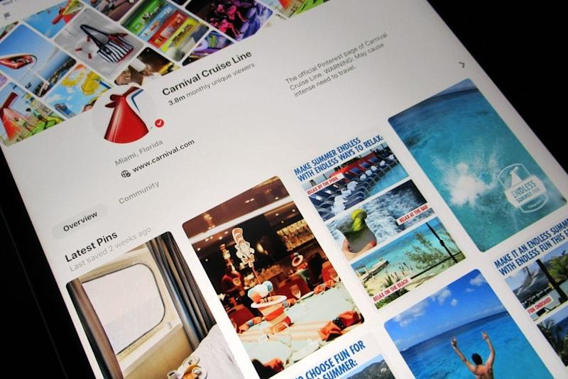 Pinterest Tries to Pin Down Carnival and Other Travel Marketers