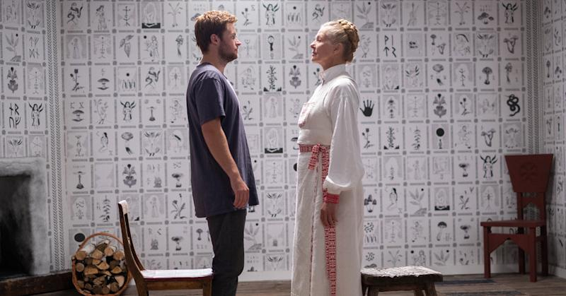 Jack Reynor strips off in Midsommar (Credit: A24)