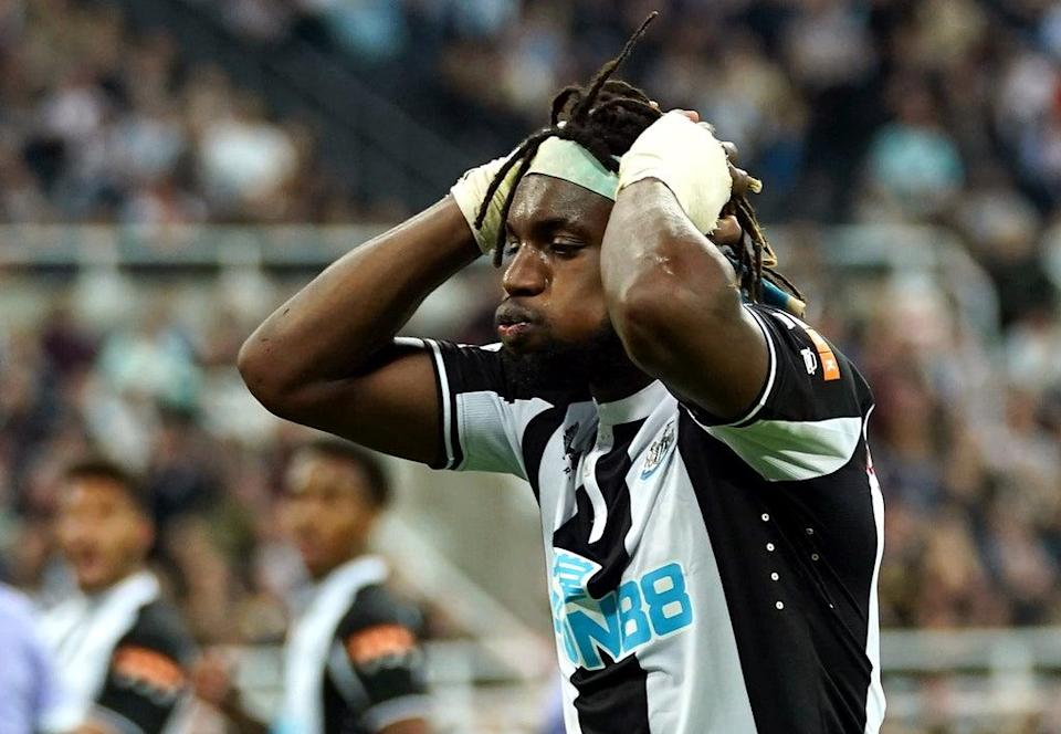 Newcastle's Allan Saint-Maximin is confident there is more to come from him (Owen Humphreys/PA) (PA Wire)