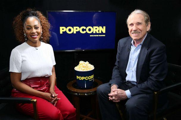 PHOTO: Simone Missick appears on 'Popcorn with Peter Travers' at ABC News studios, Feb. 24, 2020, in New York. (Kenny Chow/ABC News)