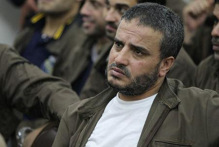 Ahmad Daqamseh, a Jordanian soldier convicted of killing seven Israeli schoolgirls on March 13, 1997, is seen at Um Alluol prison in the city of Mafraq, Jordan, August 7, 2012. Picture taken August 7, 2012. REUTERS/Muhammad Hamed