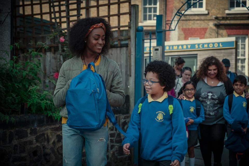 Simona Brown as Louise in 'Behind Her Eyes'Nick Wall/Netflix