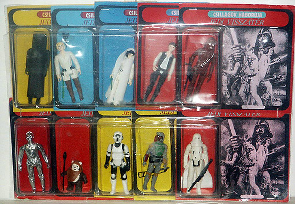 10 Wildly Expensive 'Star Wars' Bootleg Toys