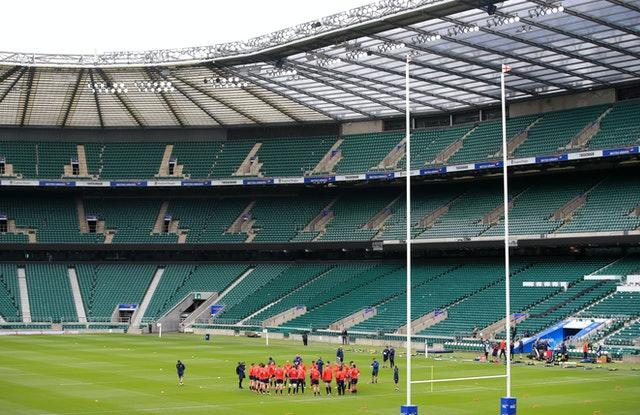Sunday's game between England and Barbarians at Twickenham was cancelled
