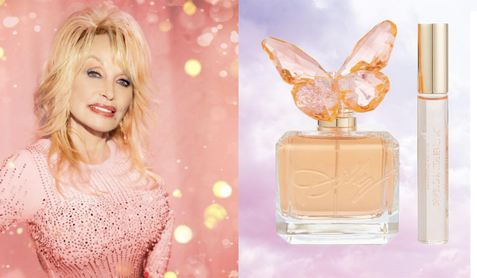 Dolly just released a brand-new fragrance! (Photo: HSN)
