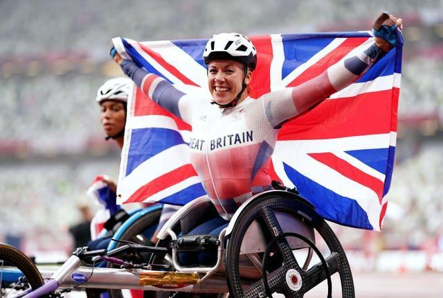 Great Britain's Hannah Cockroft blew away her rivals in Tokyo