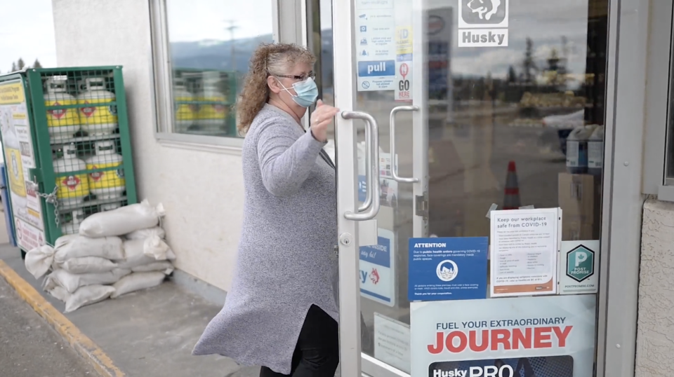 Tammy Manning was so shocked by her lotto win, she had to get someone else to check her ticket for her. Source: B.C. Lottery Corporation