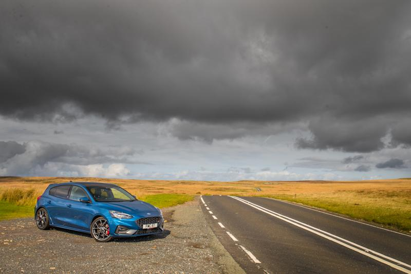 The ST is best suited to twisty b-roads