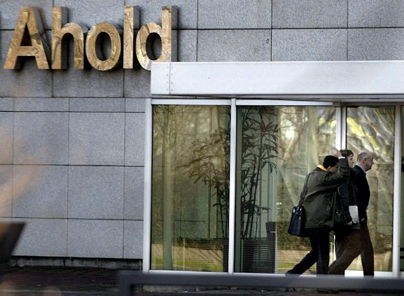 Dutch retailer Ahold sales get boost from dollar, online