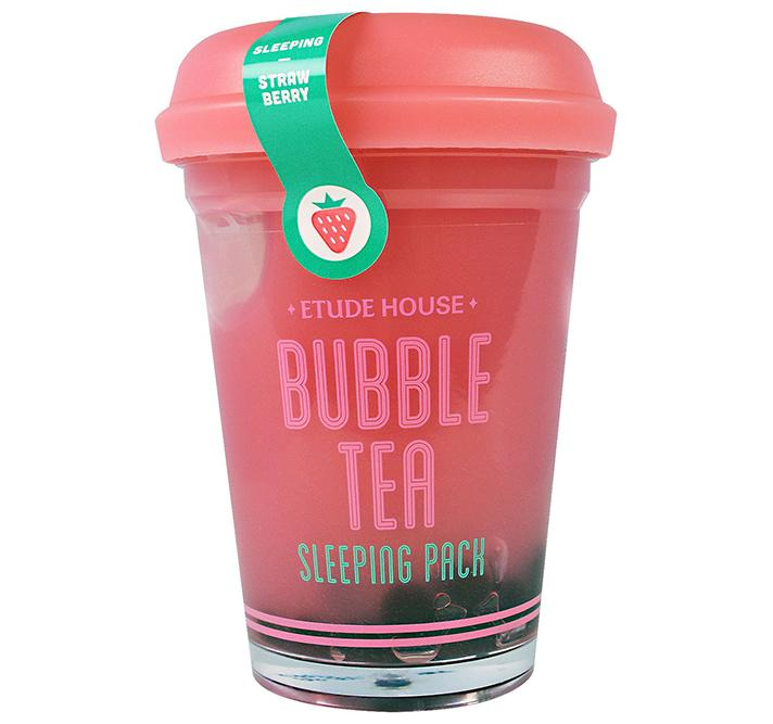 """Etude House Bubble Tea Sleeping Pack in Strawberry, $16.18; at<a rel=""""nofollow"""" href=""""http://www.etudehouse.com/index.php/bubble-tea-sleeping-pack.html"""" rel="""""""">Etude House</a>"""