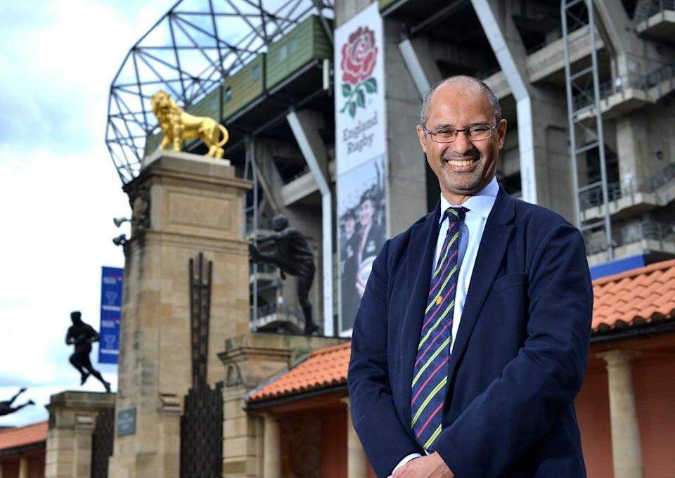 Tom Ilube is the new chair of the Rugby Football Union (RFU)