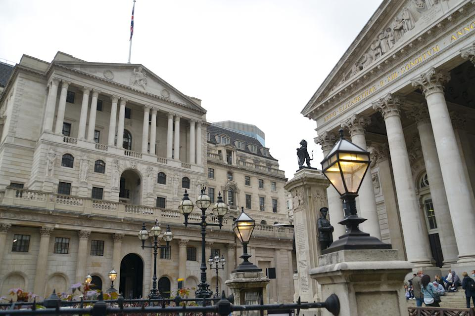 The Bank of England in London. Photo: Thomas Krych/SOPA Images/Sipa USA/PA