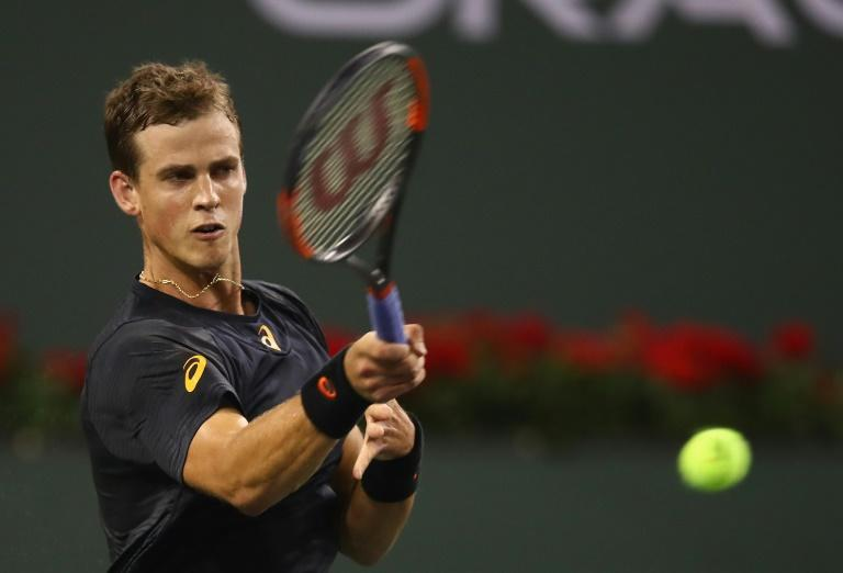 Vasek Pospisil, ranked 129th in the world, triumphed 6-4, 7-6 (7/5) over Andy Murray at Indian Wells, sealing the biggest win of his career to the delight of the court crowd
